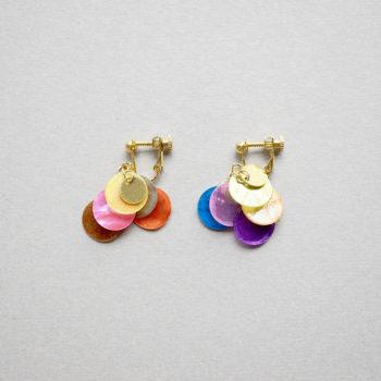 Shell earrings / Short Multi : シェルイヤリング / ショート マルチ