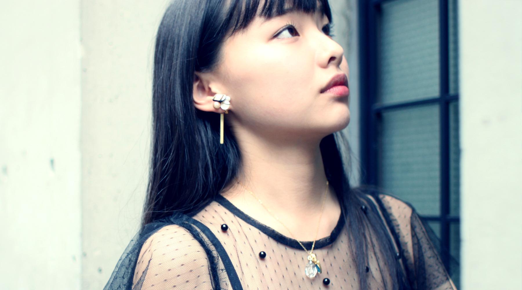 Brass earrings backs / Bar